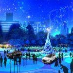 「2018SENDAI 光のページェント」に三菱自動車が協賛!新スポット★電気自動車の電力で灯るクリスマスツリー