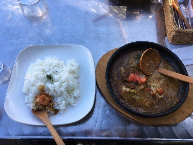 カフェmisaki カレー